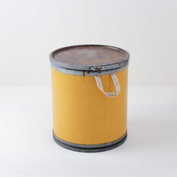 Gelber Papiereimer, Dekoration, mieten