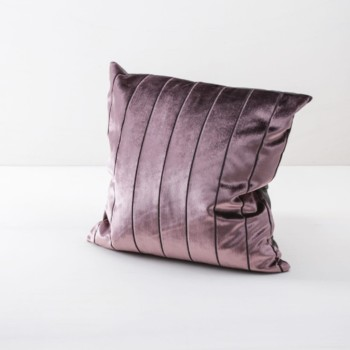 Pillow Roman Velvet Rose 50x50 | Soft pillows with slightly shiny surface, made of cotton. Several colours and patterns to combine. | gotvintage Rental & Event Design