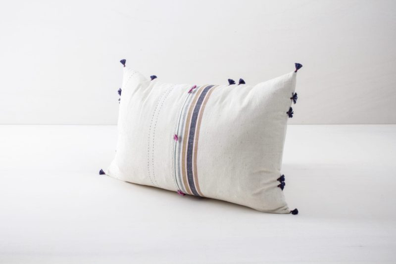 Pillow Sonia 40x60 | Soft, colourful and made of organic Kala cotton. These pillows are super cosy. | gotvintage Rental & Event Design