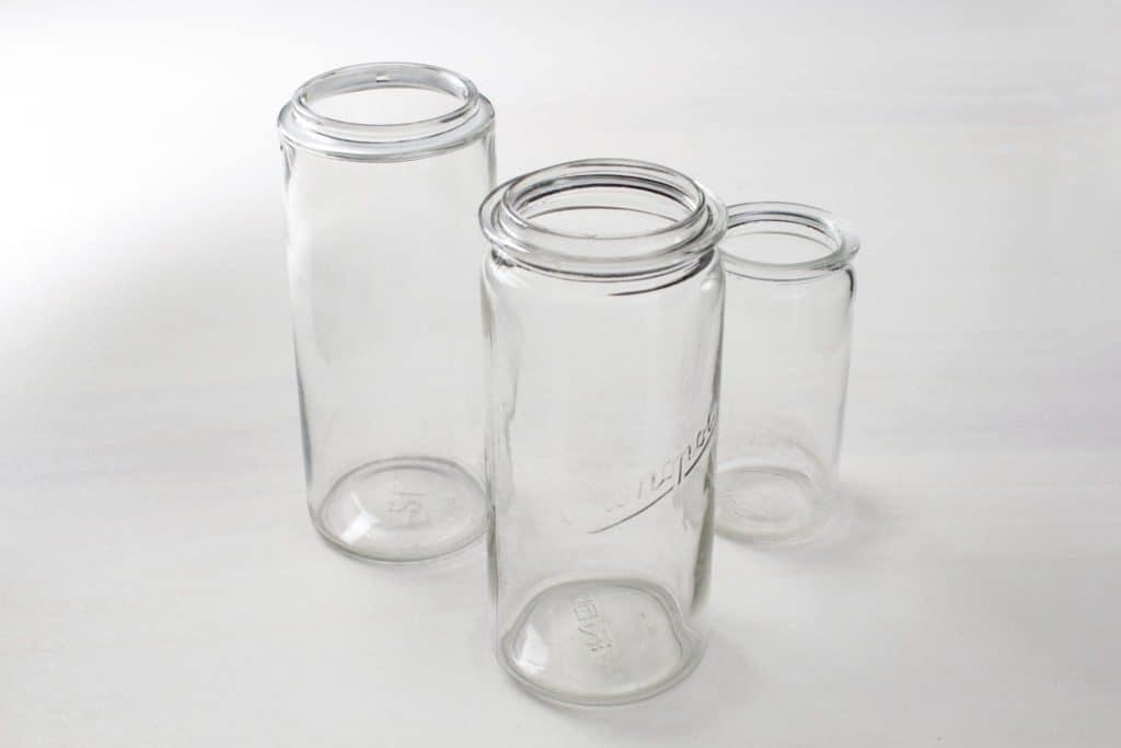 Preserving Jars Sara | Mismatching preserving jars, size L, various shapes. | gotvintage Rental & Event Design