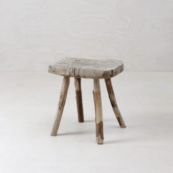 Rustic farmhouse stool, Functional decoration, rent