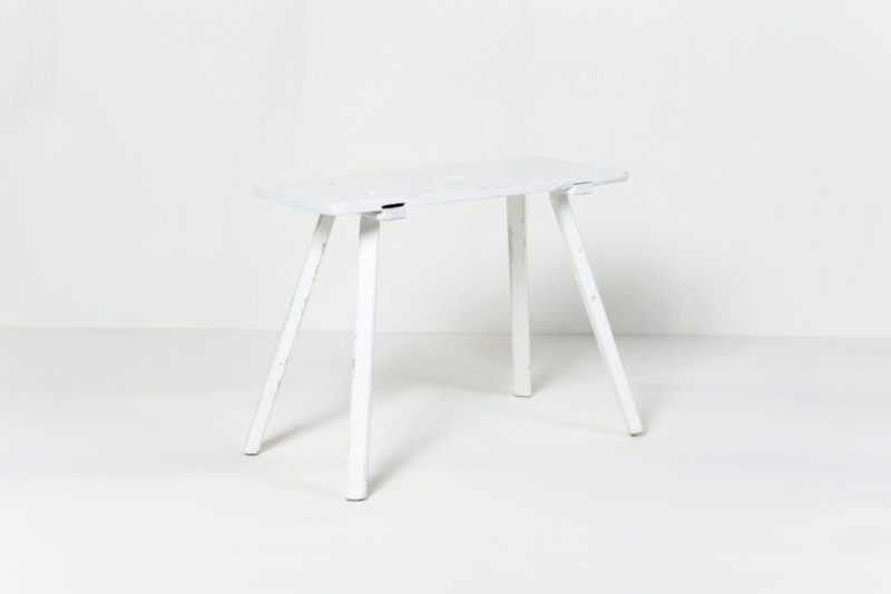 Furniture, decoration rental, white wooden tables,event