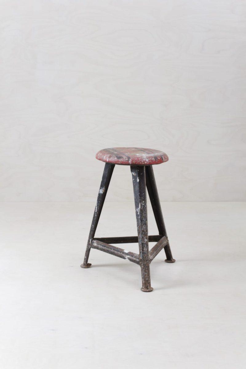 Original Rowac stool, industrial look, rent