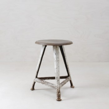 Rowac stool, industrial look, rent, Berlin, Hamburg, Cologne