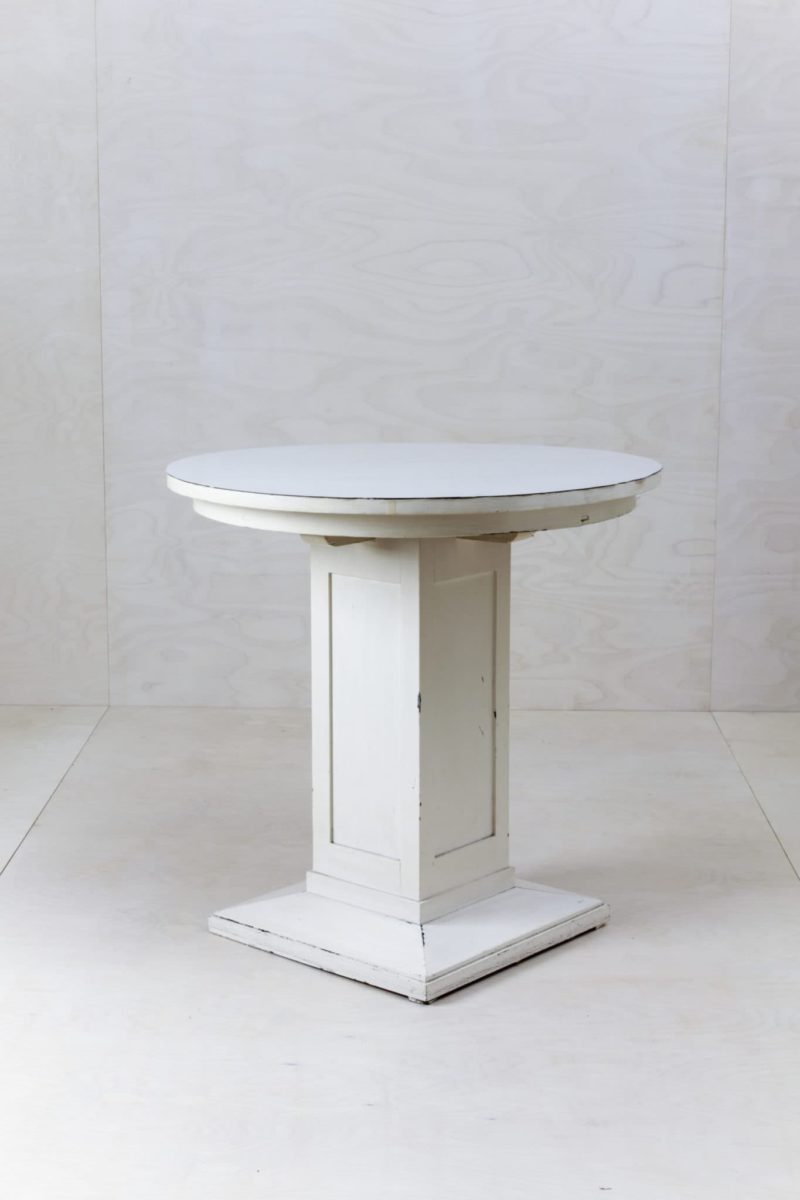White tables, side table, sofa table, rent