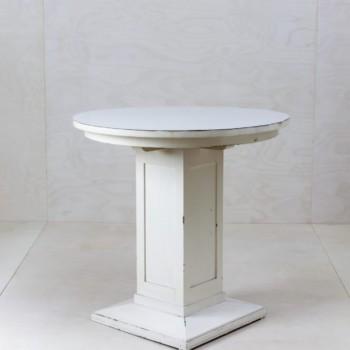 Weiße Tische, Beistelltisch, Sofatisch, mieten