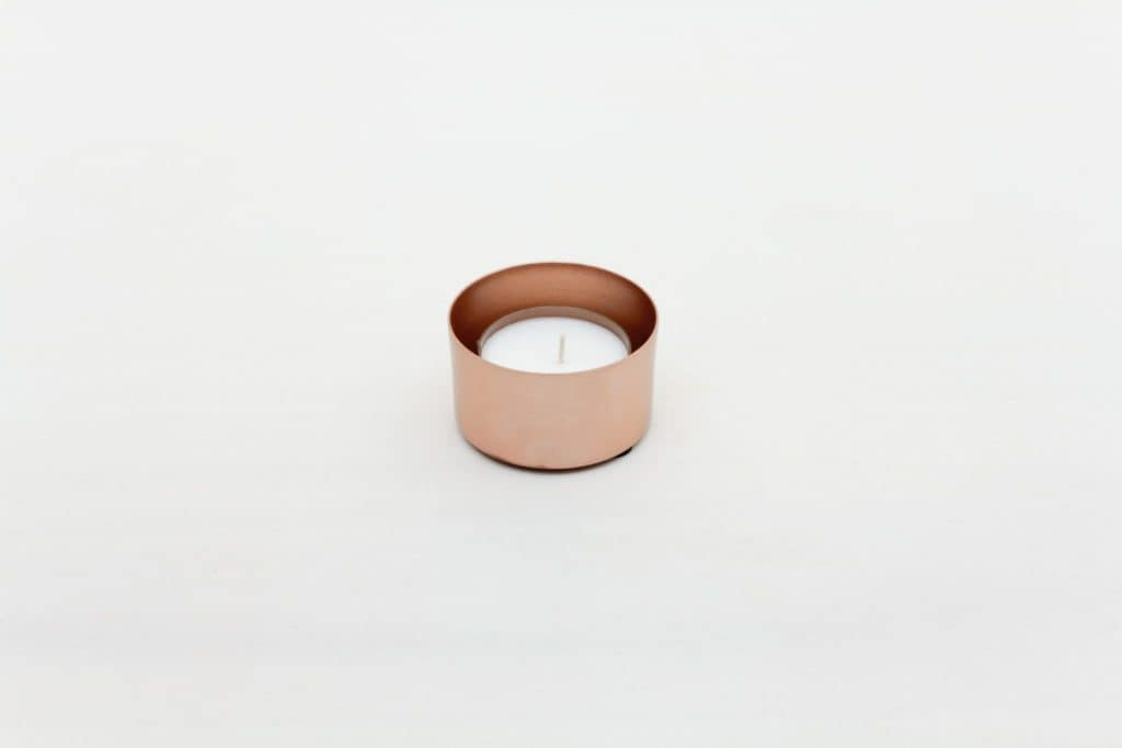 Tea-Light Elisa Copper   Copper tea-light holder. Comes without candle, please order separately.Ideal to combine with our vases from the same series in several colors and sizes, for a nice modern touch.   gotvintage Rental & Event Design