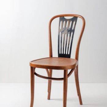 Thonet Chair Fernando | A lovely Thonet chair with an interesting pattern on the seat. | gotvintage Rental & Event Design
