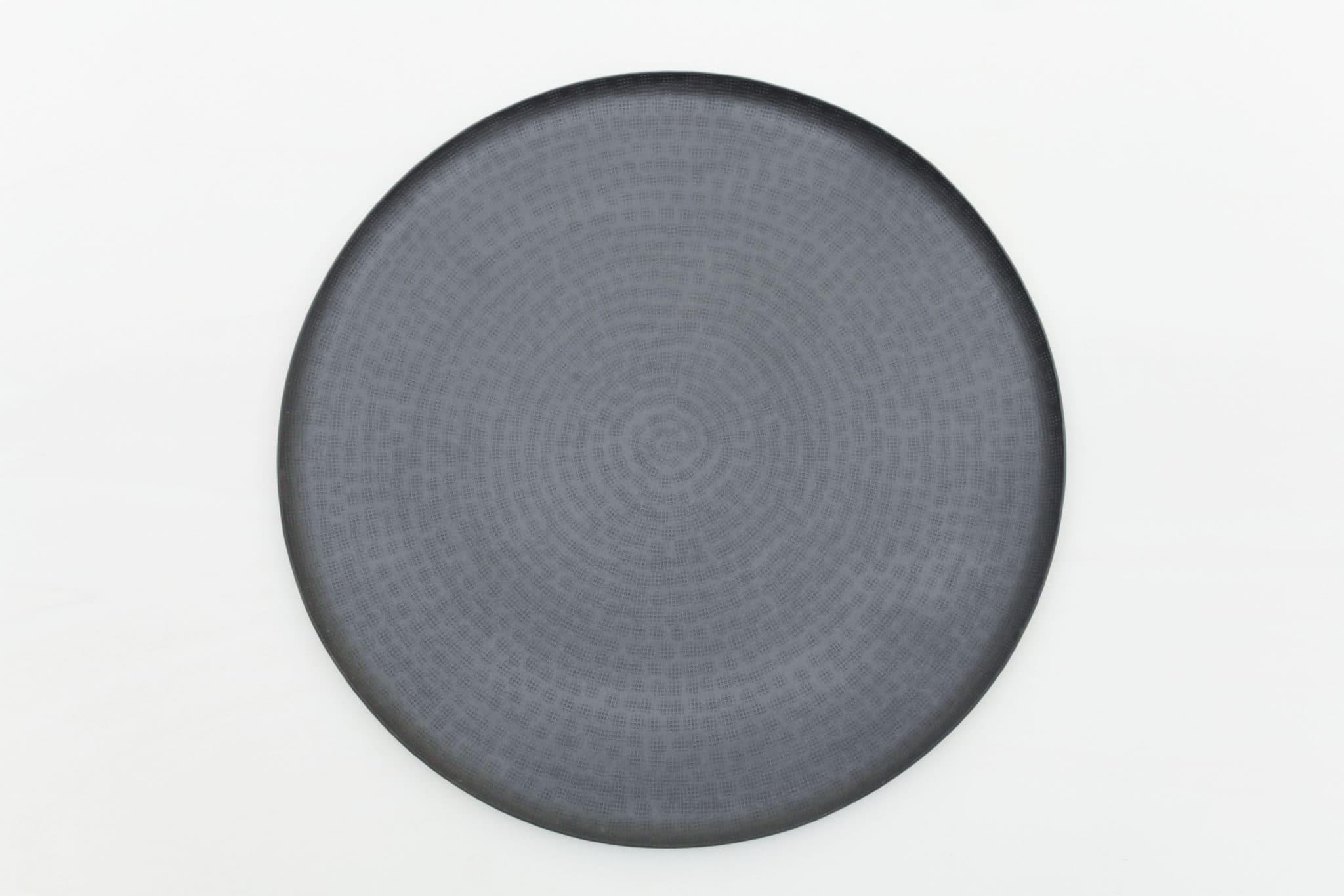 Schwarzes, rundes Tablett mieten