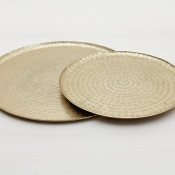 goldenes tablett mieten