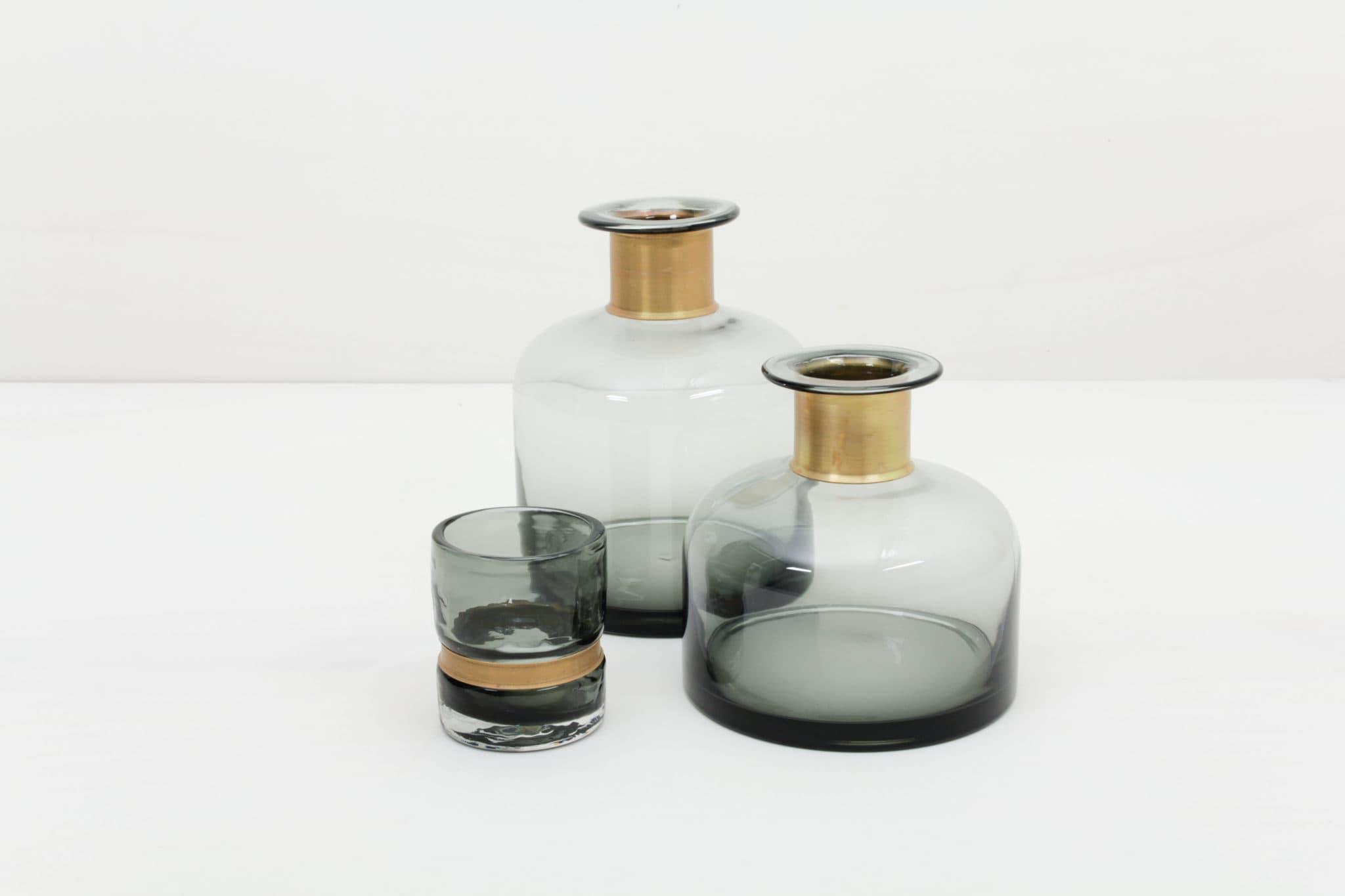 Hochzeitdeko und Tischdekoration mieten, Vasen und Flaschenvasen