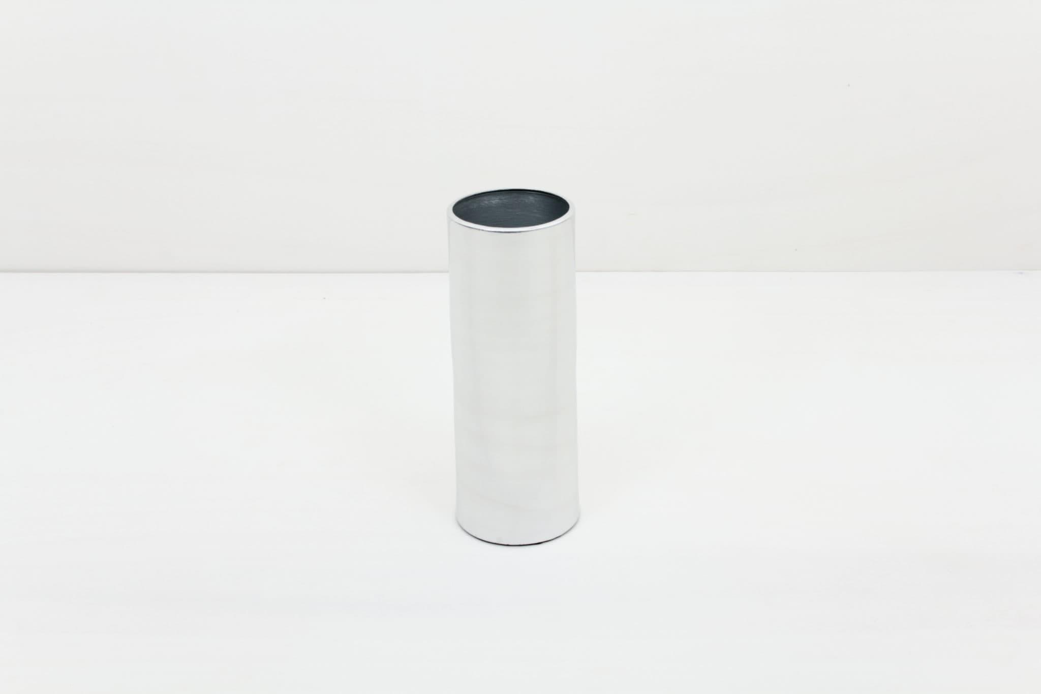 Vase, modern, silber mieten