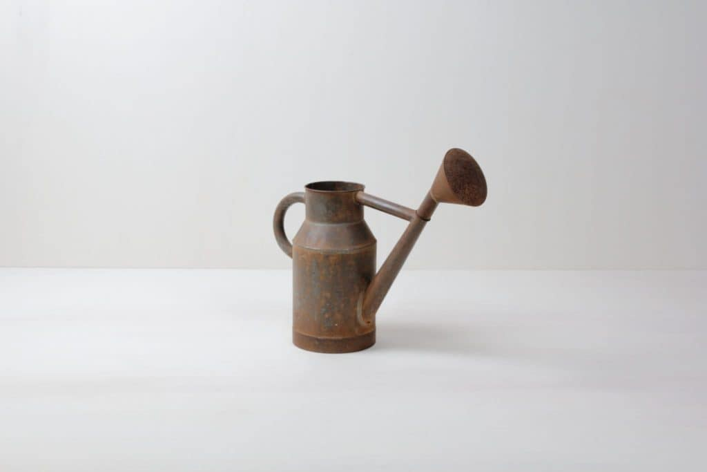 Watering Can Jacinto | Vintage watering can with great authentic rusty patina. | gotvintage Rental & Event Design