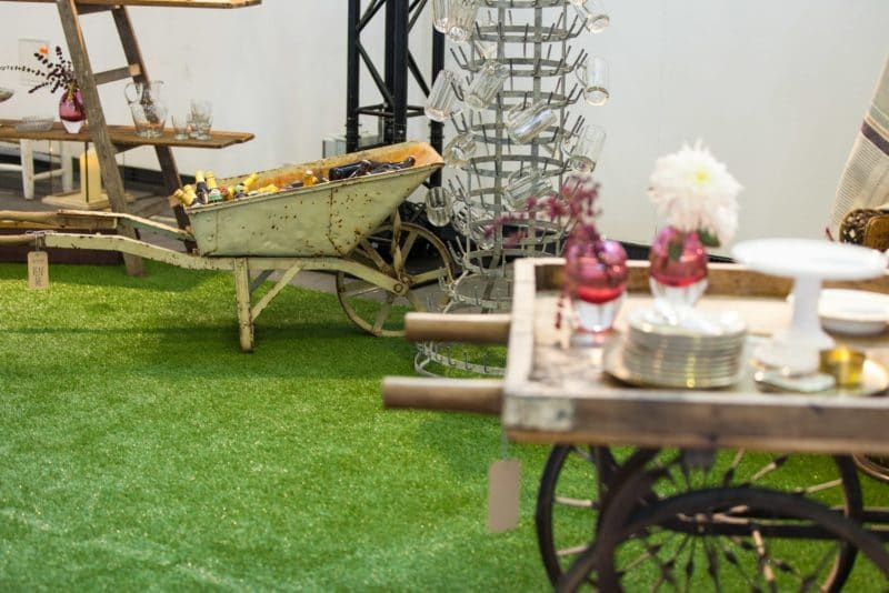 Vintage rental and event design from Berlin