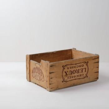 Holzkiste Eloy | Originale Gemüsekiste. Sehr schön geeignet als Regal oder zweite Ebene für Dekoration. | gotvintage Rental & Event Design