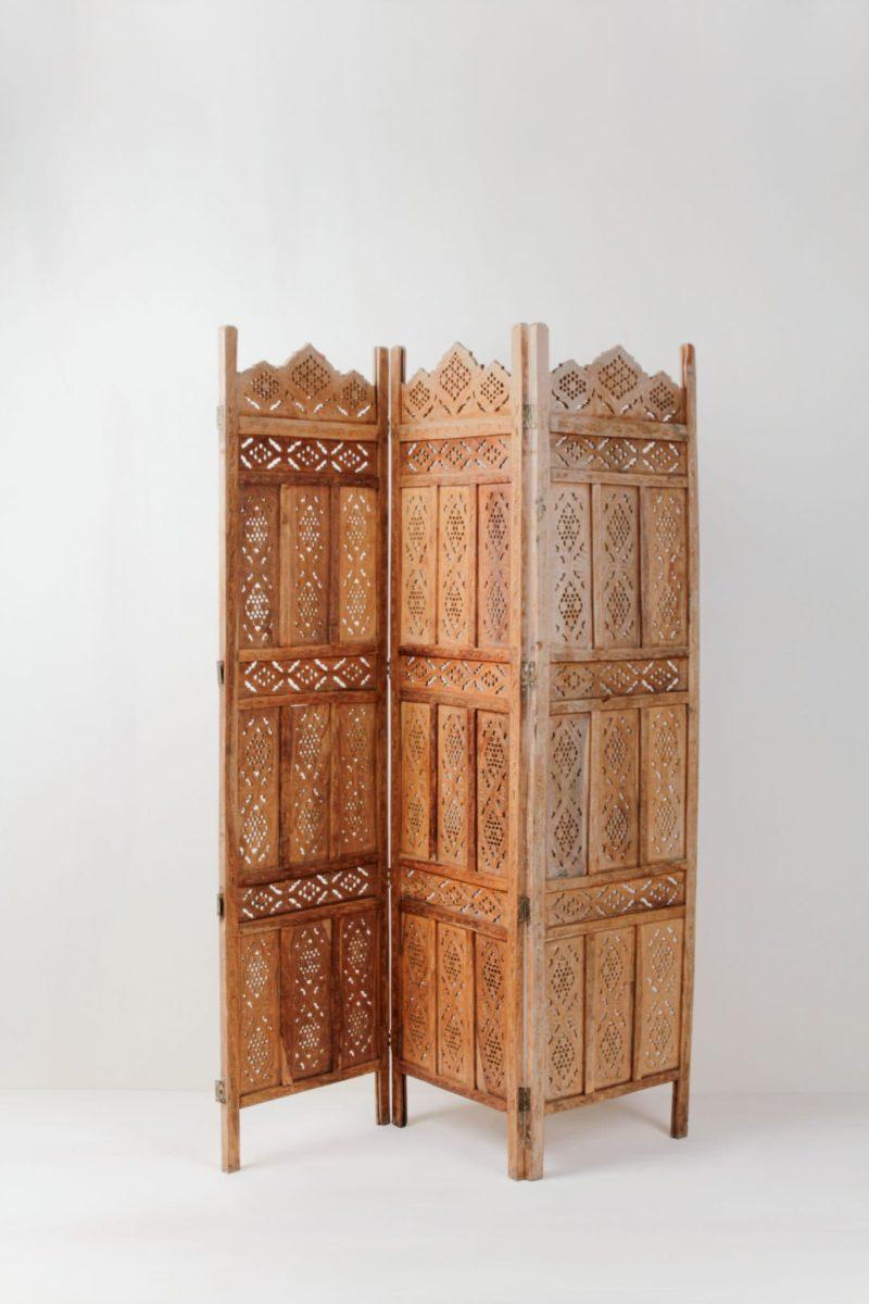 Wooden screen, boho wedding decoration rental