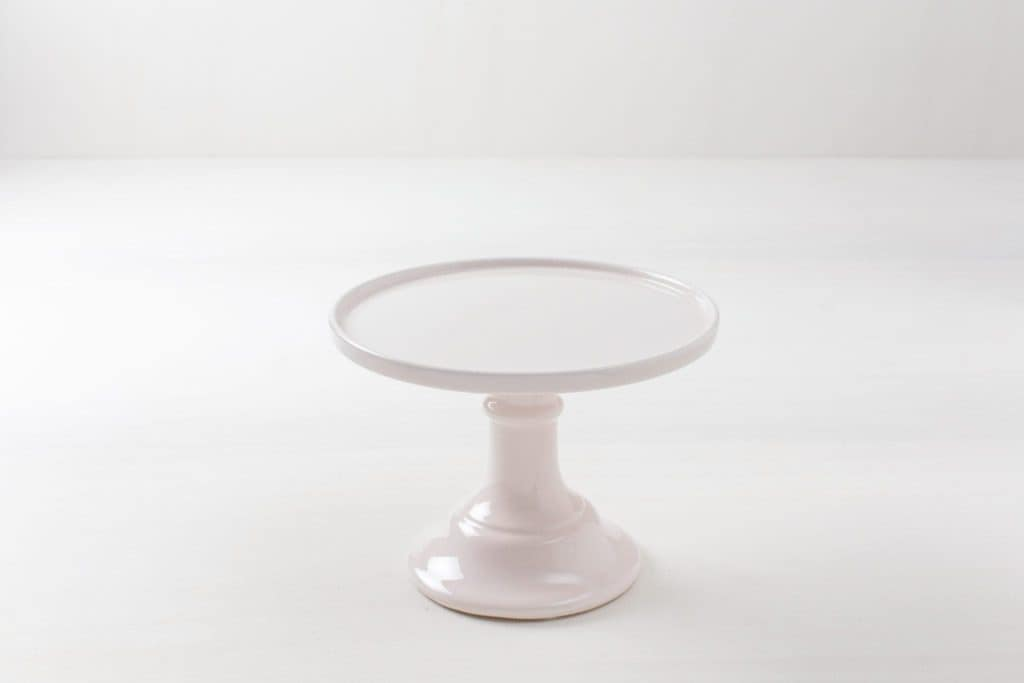 Cake Stand Beatriz | Handmade from light pink china. | gotvintage Rental & Event Design