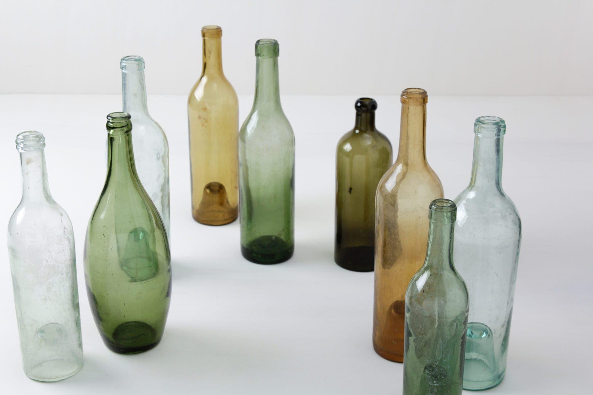 Deine individuelle Tischdeko mieten, Vintage Glasartikel