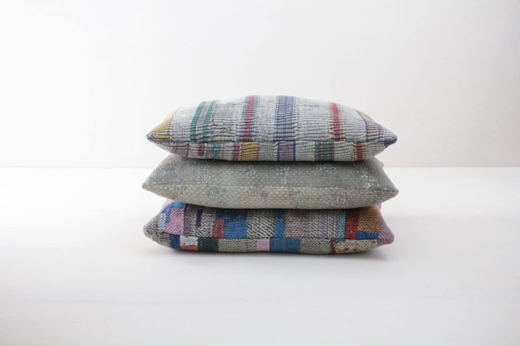 Pillow Honoria 40x60 | Different vintage cotton fabrics brought into new shape make these single pieces an ideal element to give your decoration another touch. | gotvintage Rental & Event Design