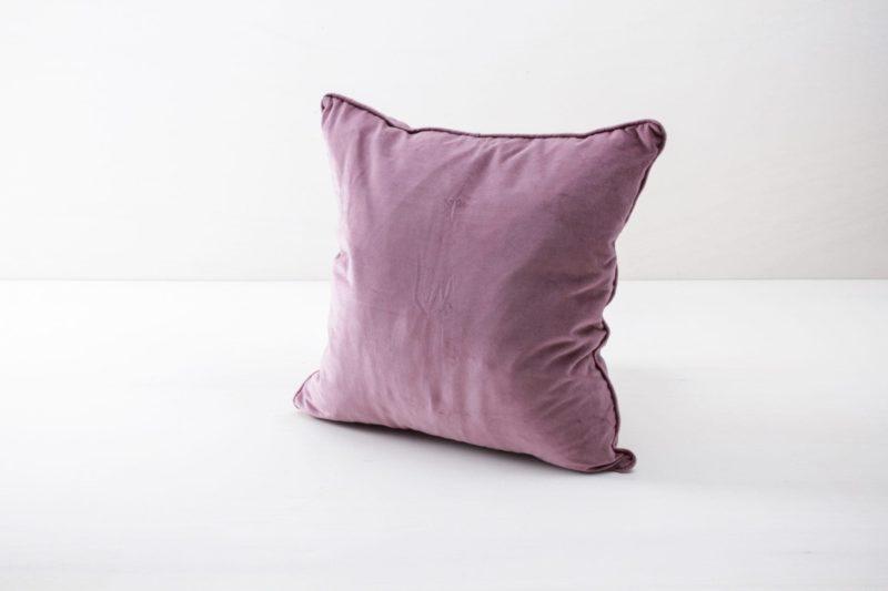 Velvet cushion, soft cotton, rent