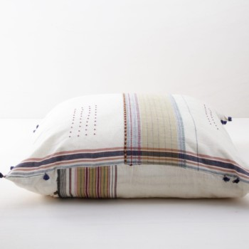 Pillow Sonia 80x80 | Soft, colorful and made from organic Kala cotton. Those pillows are super cosy. | gotvintage Rental & Event Design