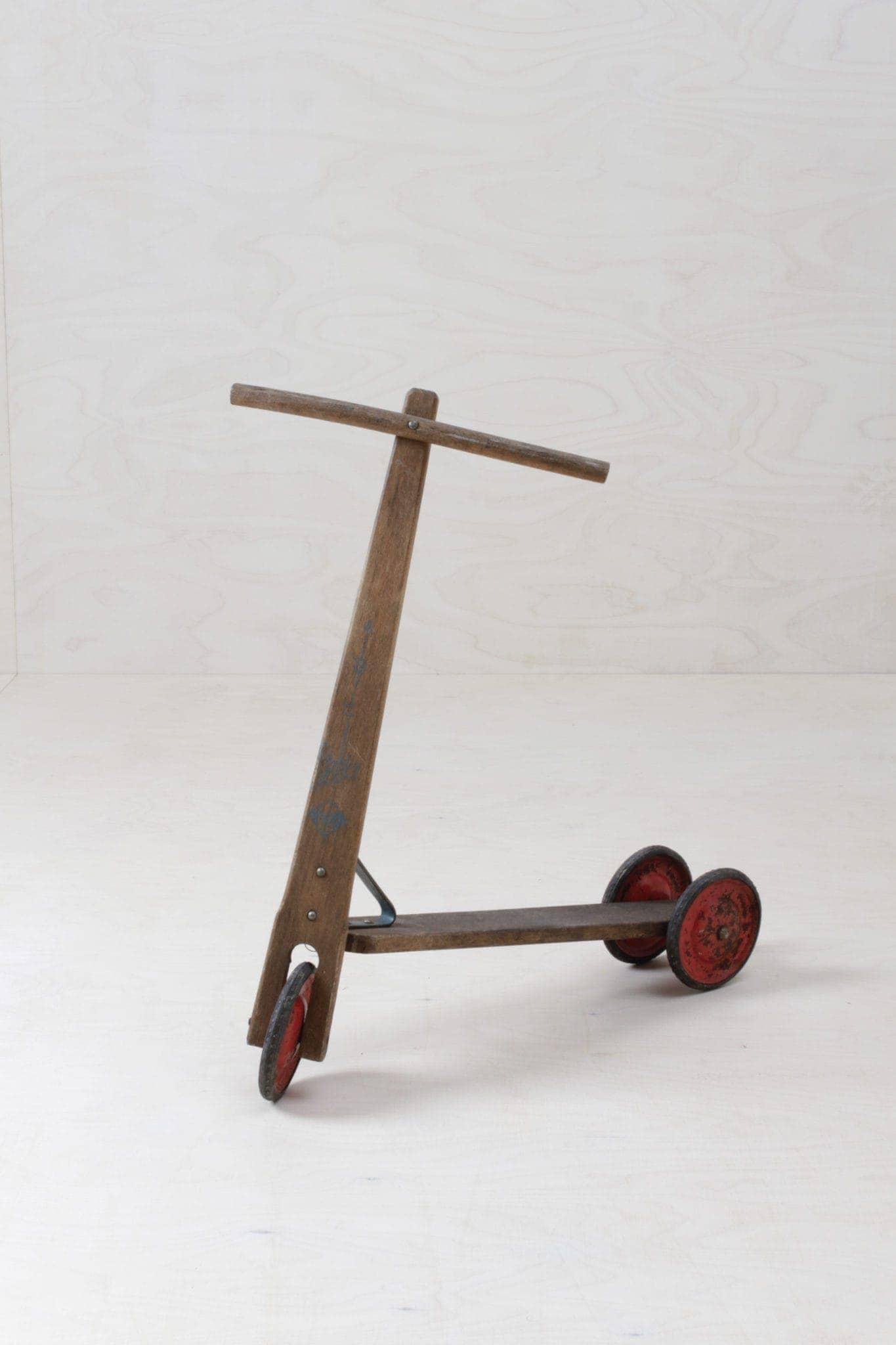 Kinderroller, Vintage Spielzeug mieten, Holzspielzeug Vintage