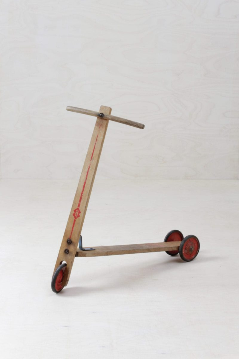 Scooter Romano | Classic vintage wooden scooter. | gotvintage Rental & Event Design
