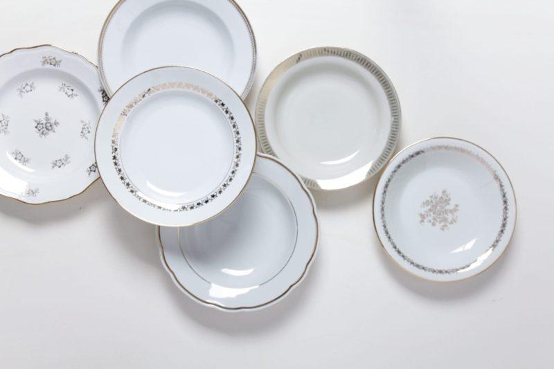 tableware rental, porcelain, plates, vintage tableware, rent