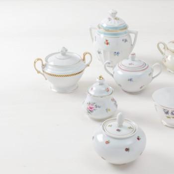sugar bowls, rent, tableware rental, wedding table