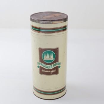 Blechdose Liana | Vintage Schwartau Bonbondose. Schöner Behälter für die Raumdeko. | gotvintage Rental & Event Design