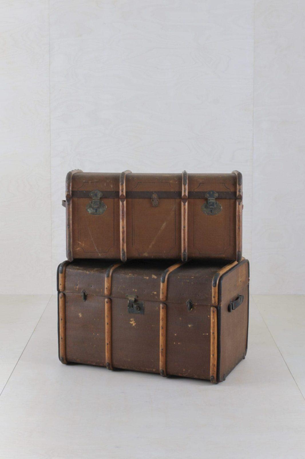 Koffertruhe Hilario | Verspielte Dekoration mit unseren Koffertruhen. | gotvintage Rental & Event Design