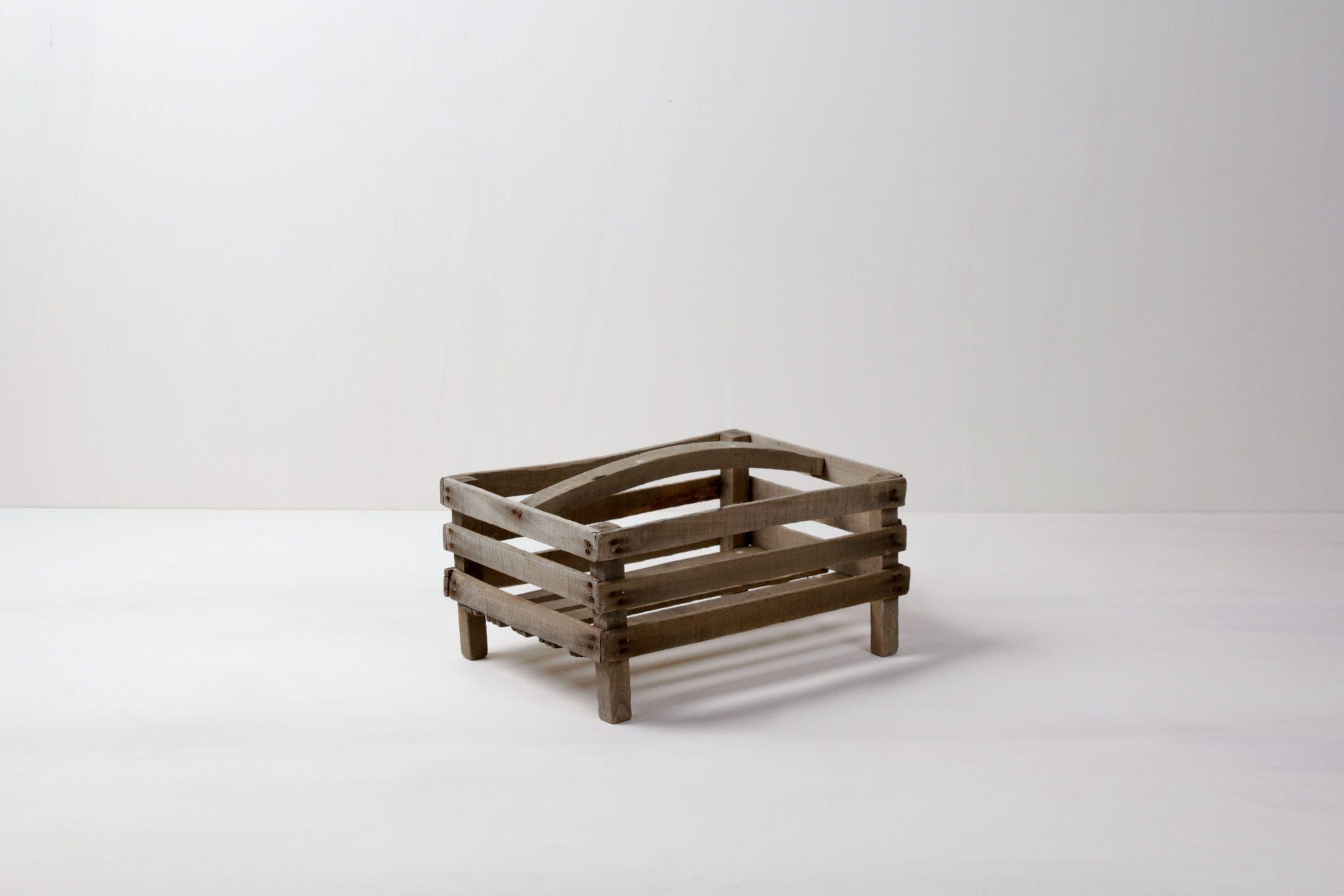 Apfelkiste Eneas | Apfelboxen. Funktionieren sehr gut zum Anbieten von Brot und anderen Kleinigkeiten. | gotvintage Rental & Event Design