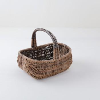 Woven wicker basket. Perfect for flower girls