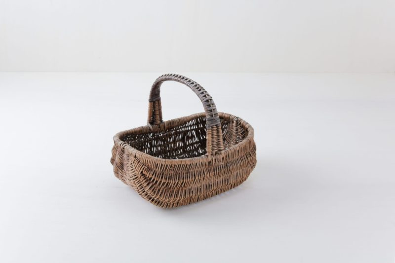 Woven wicker basket. Perfect for flower girls