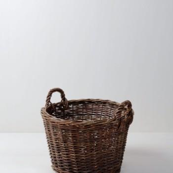 Korb Moises | Einfacher Korb, wird als Dekorationselement verwendet. | gotvintage Rental & Event Design