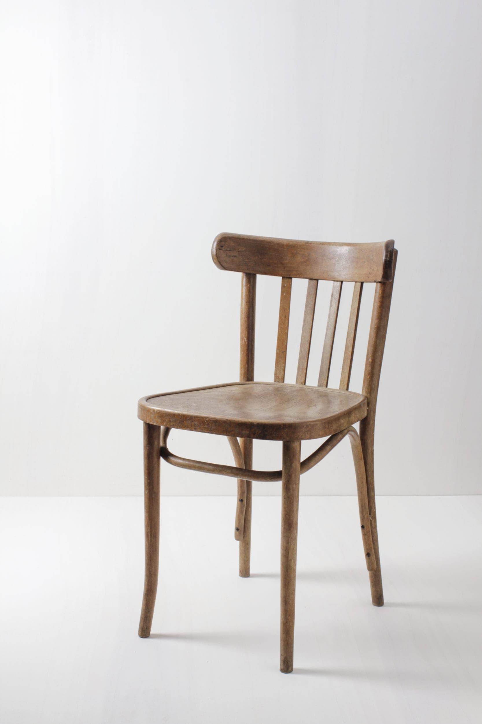 Bugholzstühle mieten für Vintagehochzeit, Holzstuhl für Dein Event