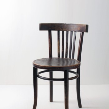 Bentwood Chair Rafael | Dining chair with a gently curved back and nice patina. | gotvintage Rental & Event Design