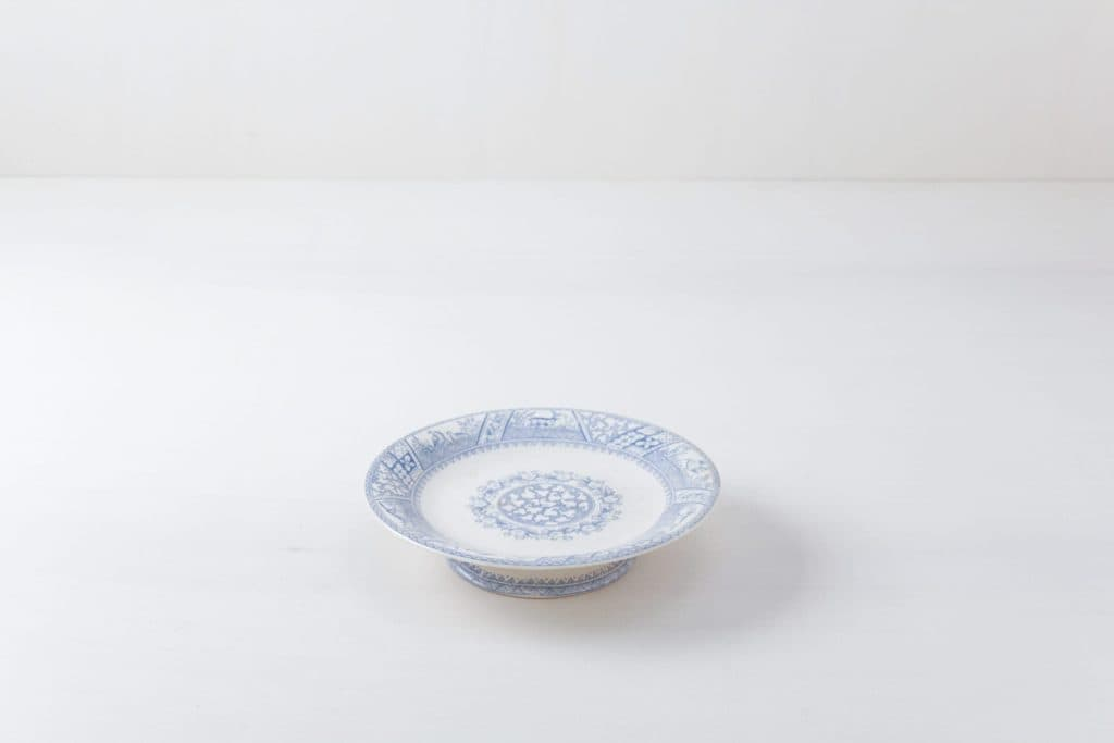 Cake Stand Salvatore Blue | A lovely blue cake stand. | gotvintage Rental & Event Design