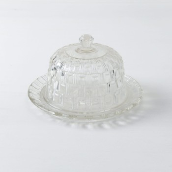 Kristallglas, Käseglocke, mieten, Geschirrverleih