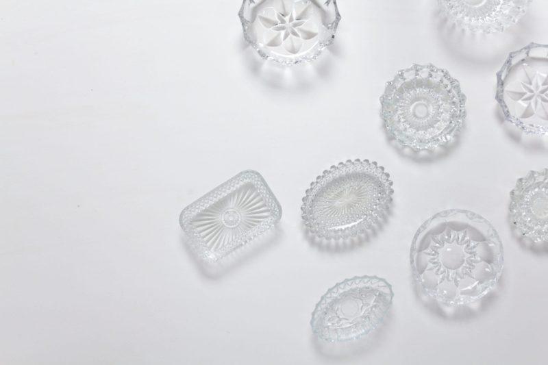crystal bowls, glassware, wedding, event