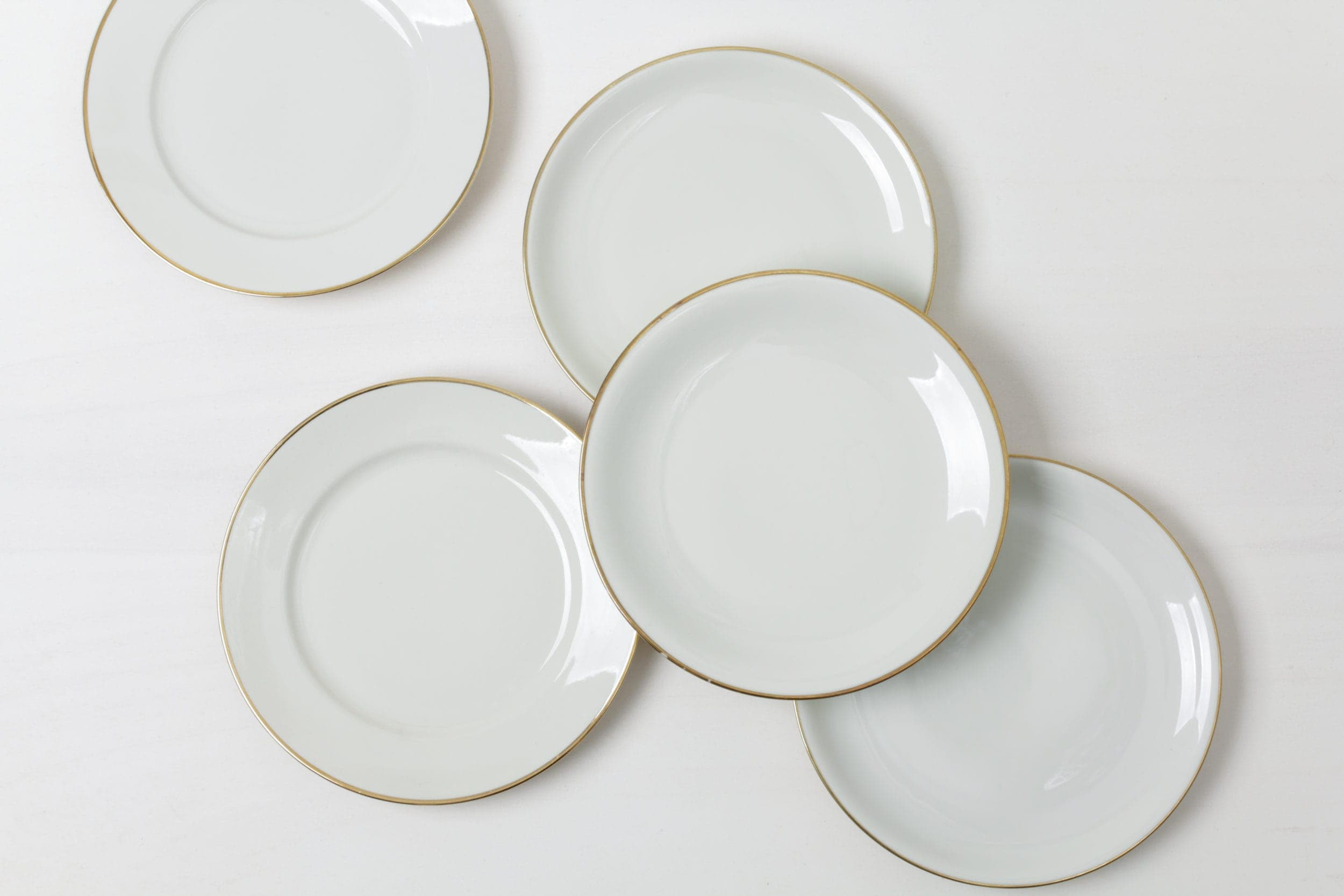 Dinner Plate Magdalena Ivory/Gold Mismatching