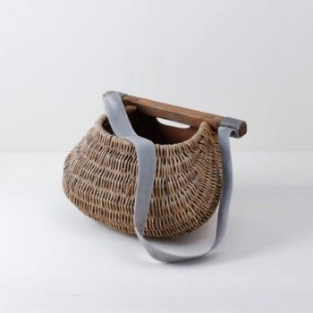 Fischerkorb Cornelio | Original Fischerkorb. Für Dekoration mit langen, hängenden Blumen. | gotvintage Rental & Event Design