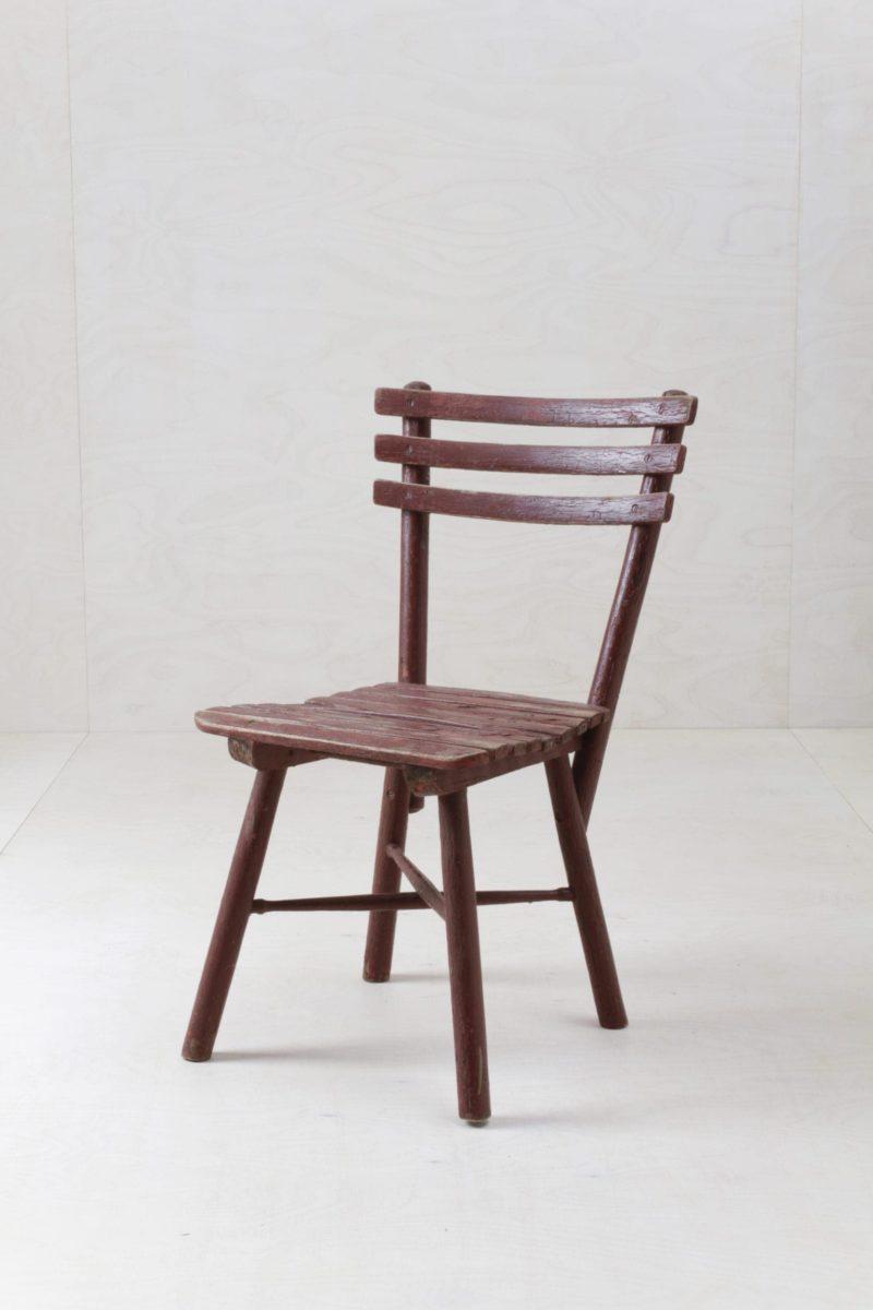 Holz Gartenstuhl Adiva | Shabby Chic Gartenstuhl mit schöner Patina. Super charmant als Funktionsdekoration oder als Traustuhl für die Zeremonie. | gotvintage Rental & Event Design