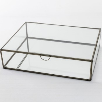 Glass case, glassware decoration, accessories, rent, product presentation