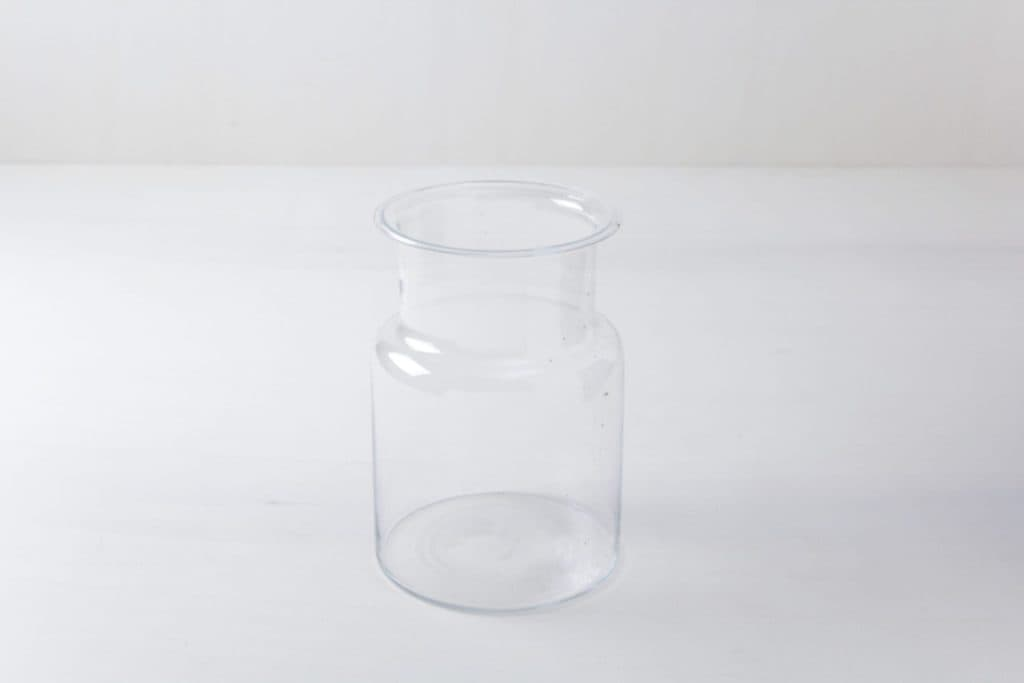 Glass Jar Carlita | Elegant and big vintage glass. For arranging flowers or as a decoritative item. | gotvintage Rental & Event Design