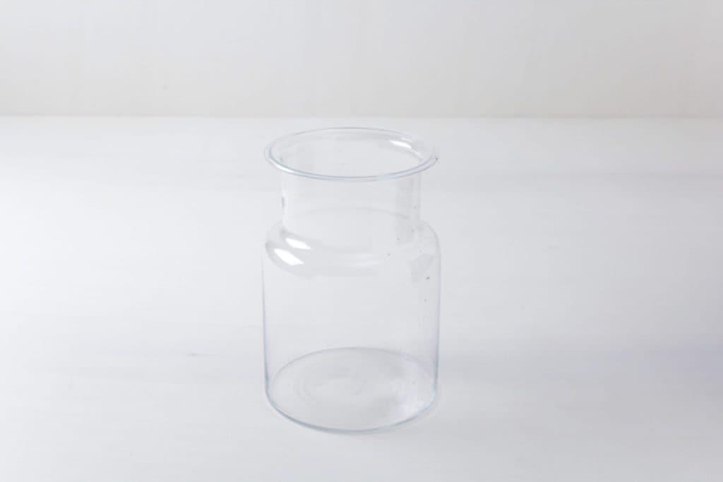 Glasgefäß Carlita | Elegantes und großes vintage Glas. Für Blumen oder als Dekoration. | gotvintage Rental & Event Design