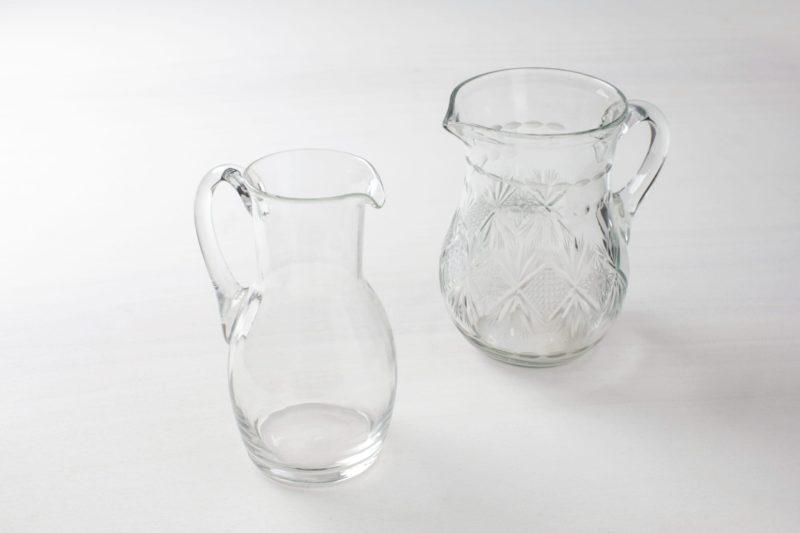 glass jug, glassware rental Berlin, Hamburg, Munich