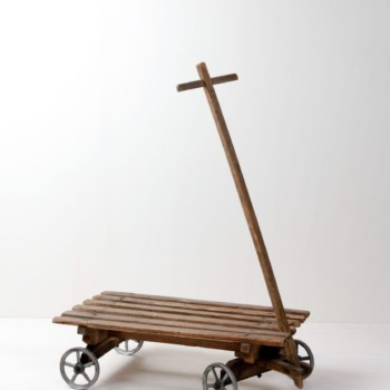rent handcart, toys, side tables, wooden furniture