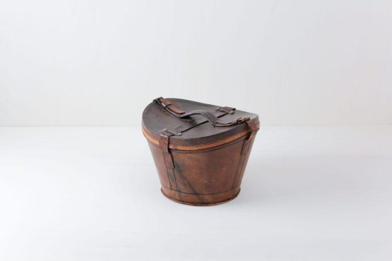 Hutkoffer Ivan | Vintage Hutkoffer aus Leder. | gotvintage Rental & Event Design