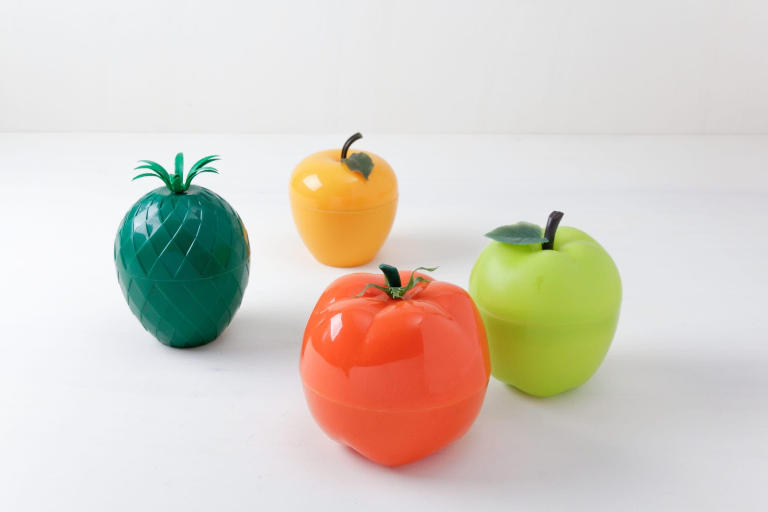 Eiskübel, Früchtekostüm, Tischdekoration